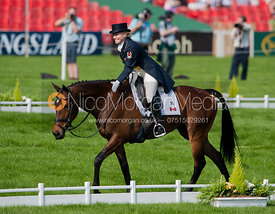 Hawley Bennet-Awad (CAN) and Gin & Juice - Dressage