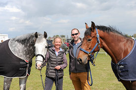 Amanda Wreford-Brown has qualified full brothers Midsummer Dazzle  & Tristis Rock. Sam Smith is groom for the week!