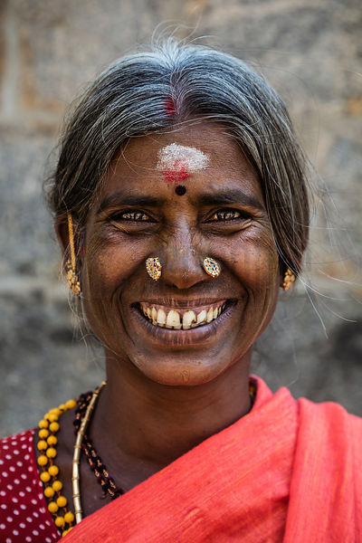 Portrait of a Hindu Woman