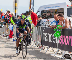 Nairo Quintana on Mont Ventoux - Tour de France 2013