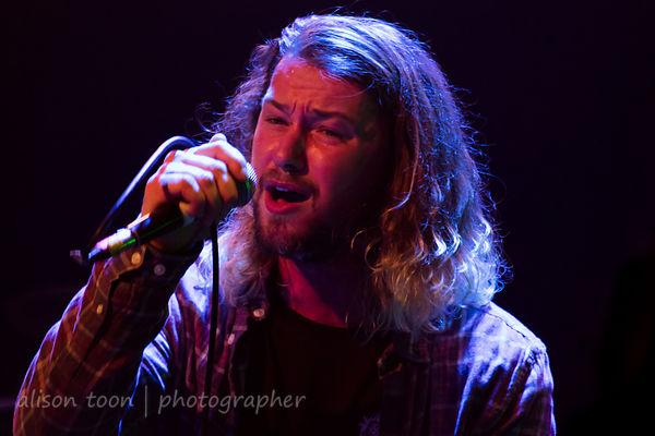 Ben Stenning, vocals, The Fallen State