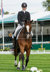 Paul Sims and GLENGARNOCK - Burghley 2015