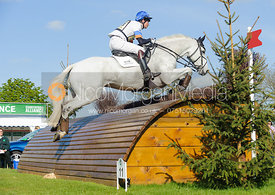 Francis Whittington and EASY TARGET - Cross Country - Mitsubishi Motors Badminton Horse Trials 2013.