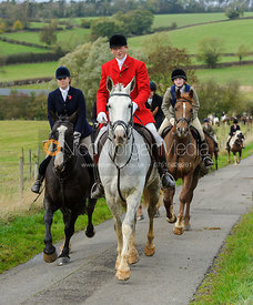 Nicholas Leeming MFH - The Cottesmore Hunt at Somerby, 2-11-13