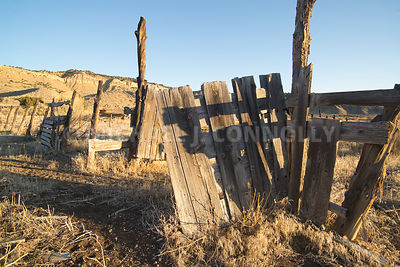 Ranch Fence- Tropic, Utah