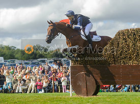 Jonathan Paget and CLIFTON LUSH - cross country phase,  Land Rover Burghley Horse Trials, 7th September 2013.