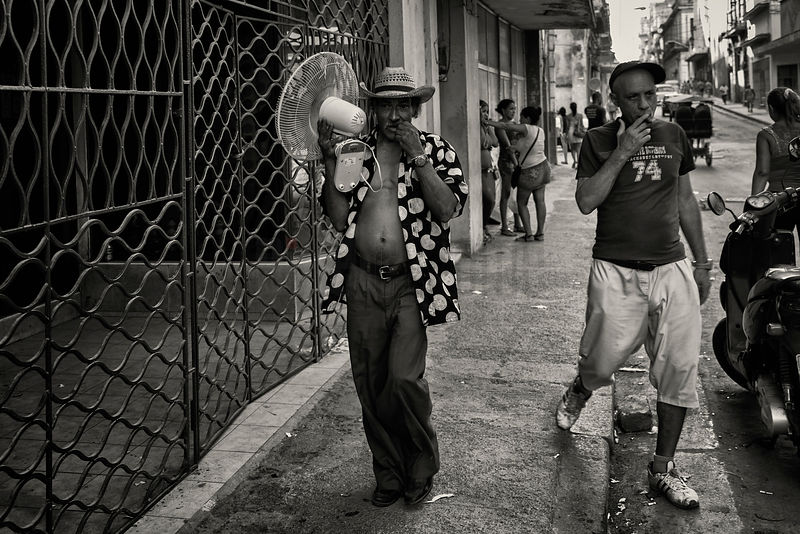 Street Life in Central District of Havana