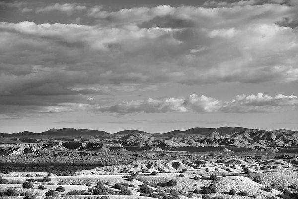 Kasha katuwe national monument new mexico landscape black and white