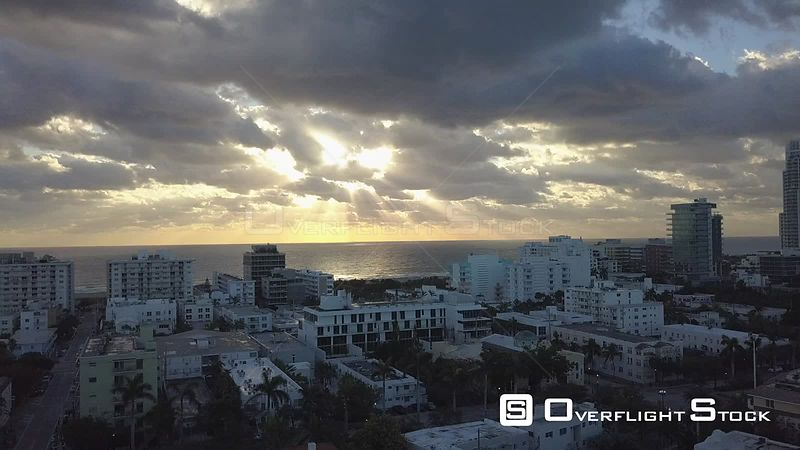 Drone Video South Beach Miami Florida