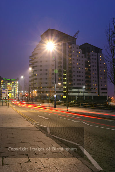 The Masshouse development in Birmingham's Eastside, England