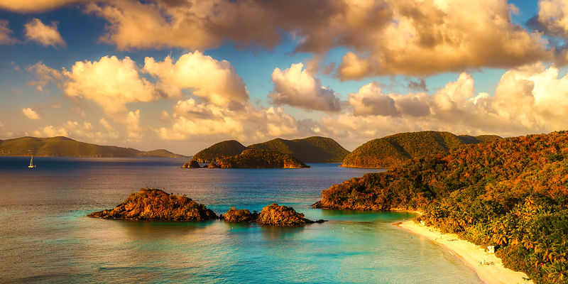 Trunk Bay Sunset