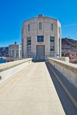 Arizona Time Clock At Hoover Dam