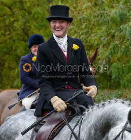 Fiona Davidson near Gartree Covert - Quorn Hunt Opening Meet 2016