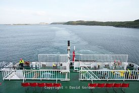 Arriving in Stornoway