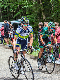 The Cyclist Stuart O'Grady - Tour de France 2012