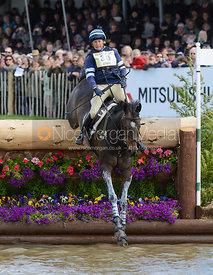 Clare Lewis and SIDNIFICANT - Cross Country phase, Mitsubishi Motors Badminton Horse Trials 2014