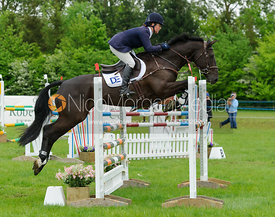 Kate Rocher-Smith and DASSETT SARATOGA - Rockingham Castle International Horse Trials 2016