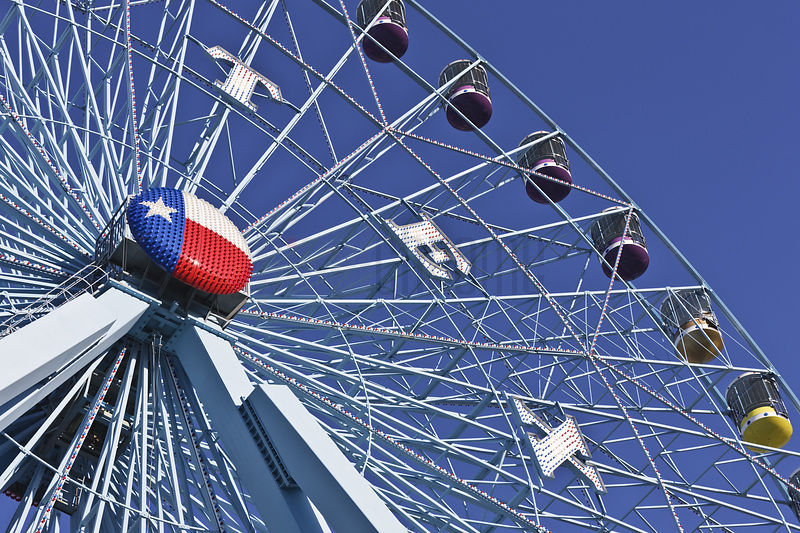 Detail of the Texas Star
