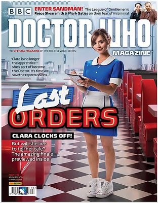 Doctor Who Magazine Series 9  cover photography