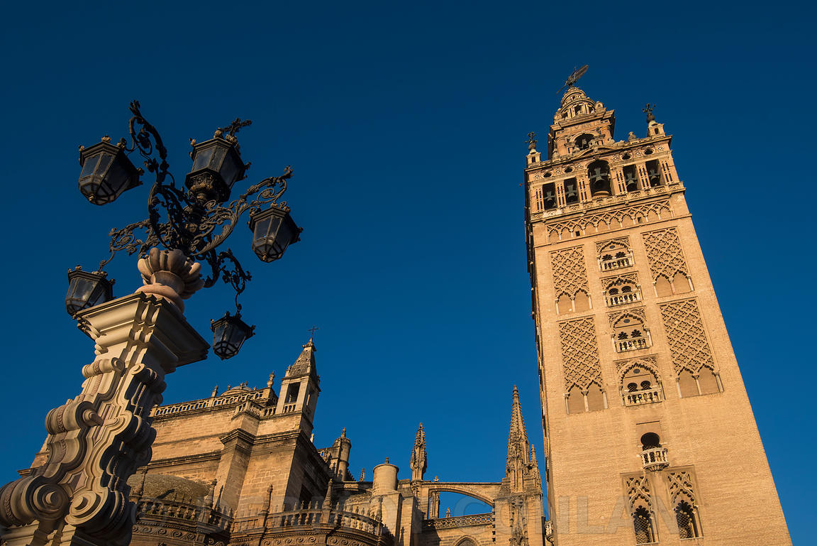 GIRALDA AND CATHEDRAL OF SEVILLE