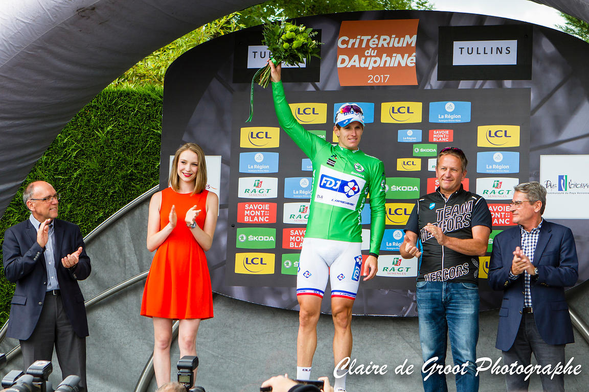 Arnaud Demare, Green Jersey wearer after the 3rd stage
