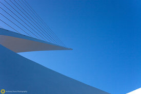 Sundial Bridge Abstract #13