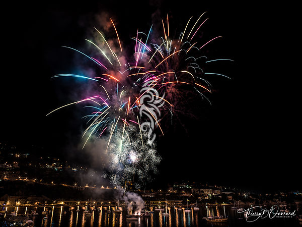 Feux d 'artifice ... Sud ... photos