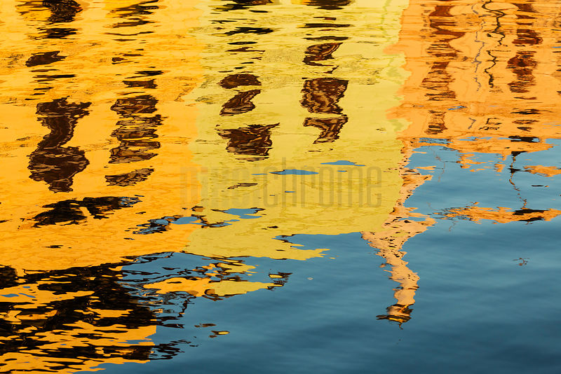 Reflections in the Calm Waters of Havana Harbour