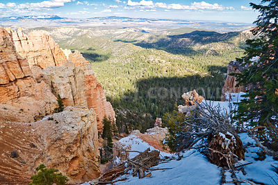 Snowy Canyon Top- Bryce Canyon, Utah