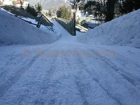 The Cresta Run of the SMTC Saint Moritz Tobogganing Club