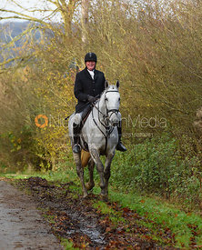 Nick Townsend between Withcote Lodge and Launde Abbey 16/11