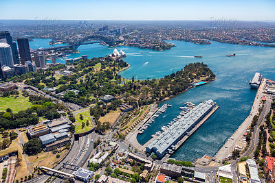 Woolloomooloo Bay to the North Shore