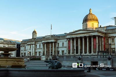 Time Lapse The National Gallery Trafalgar Square London England