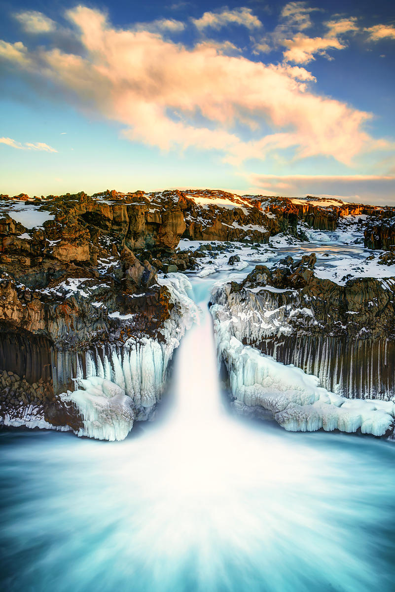 Aldeyarfoss Sunrise