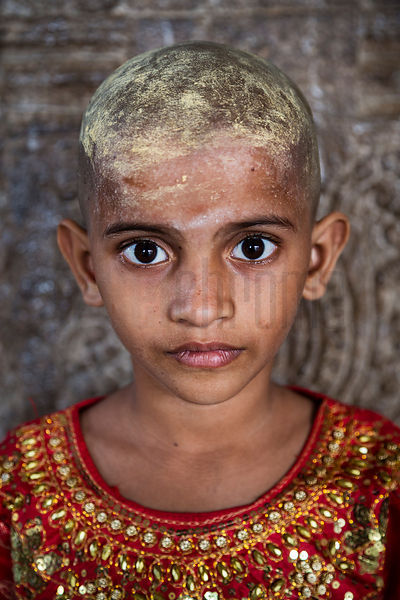 Portrait of a Young Hindu Girl