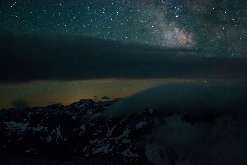 North Cascades Night Sky