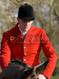 The meet - The Cottesmore and West Norfolk Hunts at Gressenhall, Norfolk, 31/1/09
