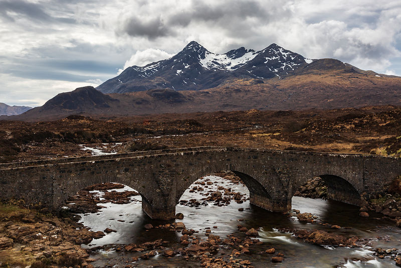 Stone Bridge over the Sligachan River