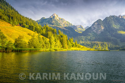 Black lake mountains - Schwarzsee