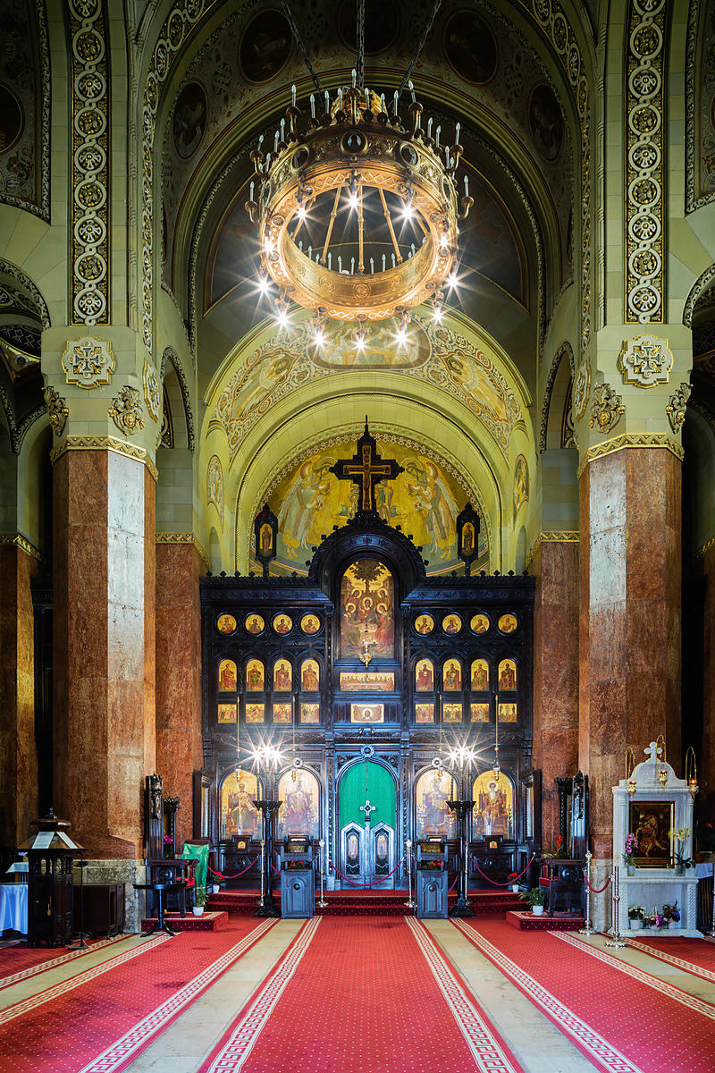 Interior of the Orthodox Church of the Coronation