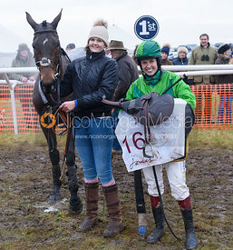 POPAWAY (Immy Robinson) - Midlands Area Club Point-to-point 2017, Thorpe Lodge 29/1