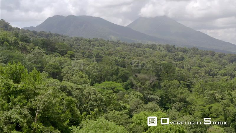 Drone Video Arenal Volcano Costa Rica