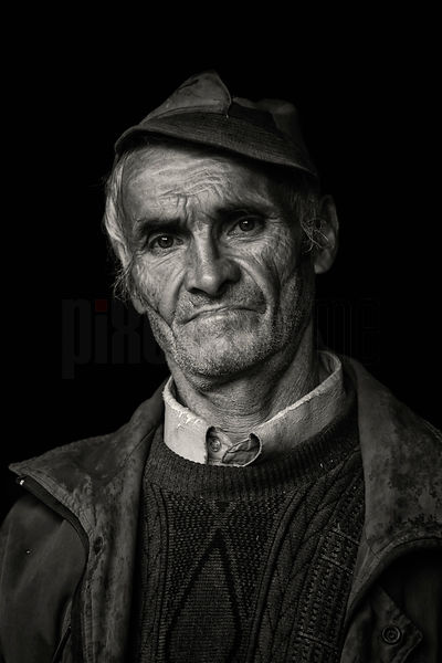 Portrait of a Romanian Man