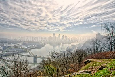 A Pittsburgh Misty Sunrise