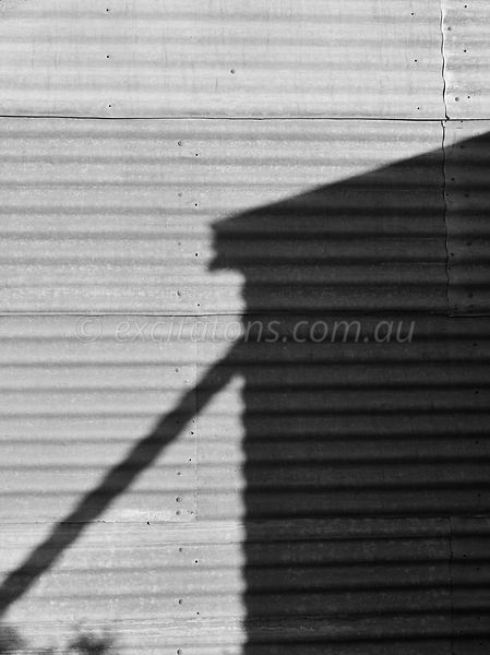 Water tank shadow