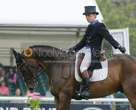 SImon Grieve and CORNACREW - dressage phase,  Land Rover Burghley Horse Trials, 4th September 2014.
