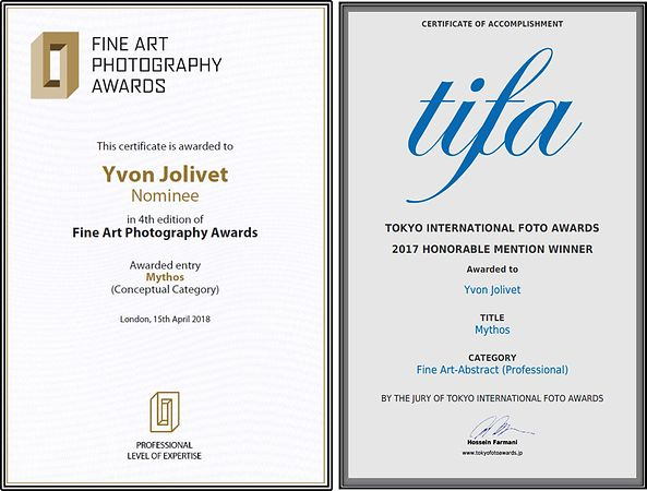 Mythos  ( 2 Awards ; 2018-2017) tifa, fapa, photo, awards