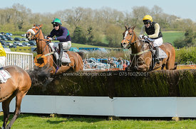 Jack Andrews, John Russell - The Pytchley Point-to-point 2017