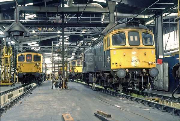 PHOTOS OF BRITISH RAIL 1969-1992 photo, images