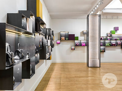 Delvaux Showroom, Paris, France.